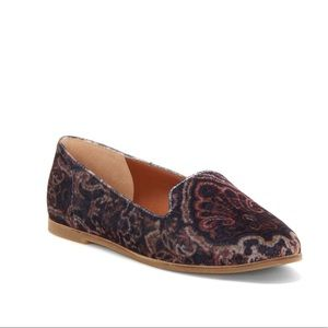 Carlyn Flat Loafers Lucky Brand Paisley Fabric 8